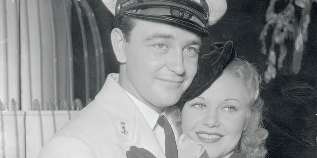 Ginger Rogers and Lew Ayres
