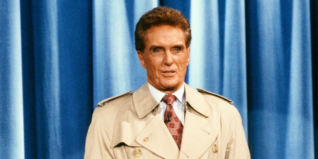 Late 'Unsolved Mysteries' host Robert Stack 'really became involved' in the cold cases, says show's co-creator.jpg