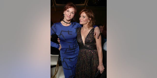 Marilu Henner and Candace Cameron Bure are quarantining together in Vancouver as they gear up to film another Hallmark film.