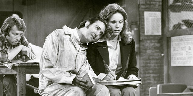 Andy Kaufman (pictured here with Marilu Henner) passed away in 1984 at age 35 from cancer.