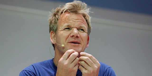 Gordon Ramsay, seen here at the 2009 Good Food and Wine Show in Sydney, Australia, collaborated with a California master sommelier to create his eponymous wine label.