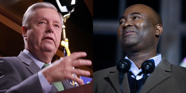Last November, Graham defeated Harrison by 10 points in South Carolina's closely watched U.S. Senate race