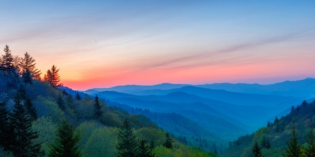 The Great Smoky Mountains National Park in North Carolina and Tennessee was the most popular national park, with 12.1 million visitors last year.
