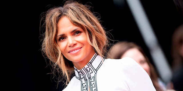 Halle Berry shared a beach photo on Monday.