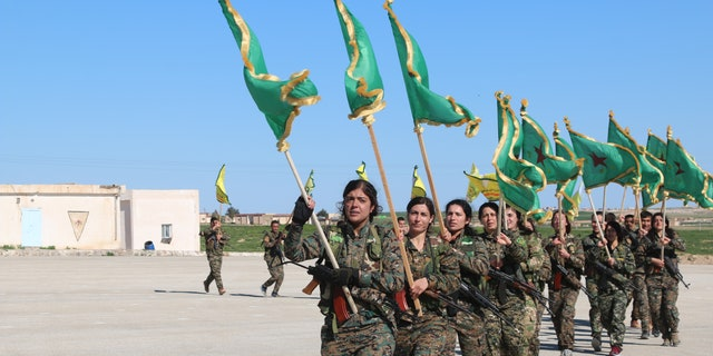 Women militias in Syria formed in 2013 as a way to protect neighborhoods during the Syrian civil war and defended their communities against the ISIS terrorists who captured, sold and enslaved women and young girls