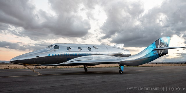 Introducing VSS Imagine, the first SpaceShip III in the Virgin Galactic Fleet