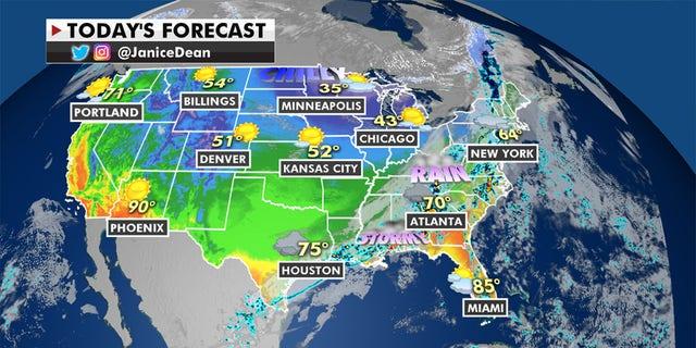 Frigid temperatures are expected to rebound. (Fox News)