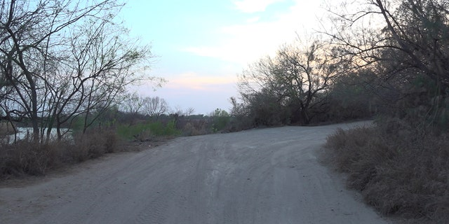 A jogging track runs through the Villarreal's land and is often a tool Border Patrol agents use to track migrants.