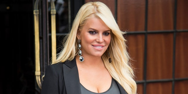 Jessica Simpson said she threw out her scale and no longer weighs herself. (Photo by Gotham/GC Images)