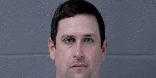 Joshua Hunsucker, who is accused of poisoning his wife with eyedrops in 2018, was arrested on one charge of burning personal property Monday for a 2019 incident in which he allegedly set a helicopter on fire mid-flight.