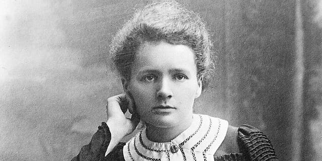 Marie Curie (1867-1934), French physicist, at the time of her Nobel prize of chemistry, 1903. (Boyer/Roger Viollet via Getty Images)
