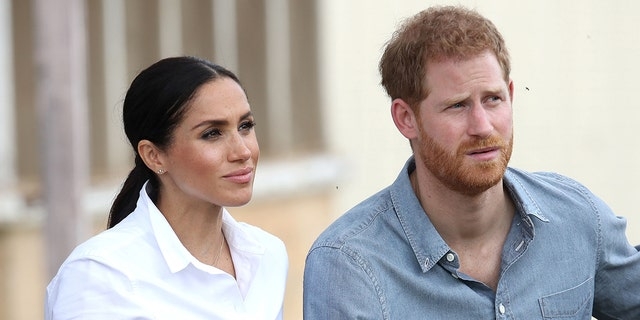 The Sussexes split from the royal family will be chronicled by the upcoming Lifetime TV movie 'Harry & Meghan: Escaping the Palace.' (Photo by Chris Jackson - Pool/Getty Images)