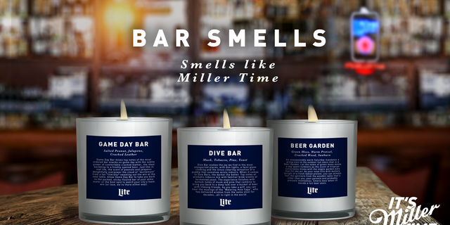 All proceeds from the candle sales will benefit the United States Bartenders' Guild, a nonprofit supporting bartenders and service industry employees.