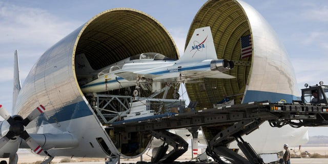 NASA's Super Guppy Turbine continues to support America's space program today. (Credit: NASA)