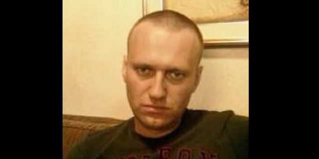 Navalny now appears to have a shaven head, although it's uncertain when this photograph was taken. (Instagram)