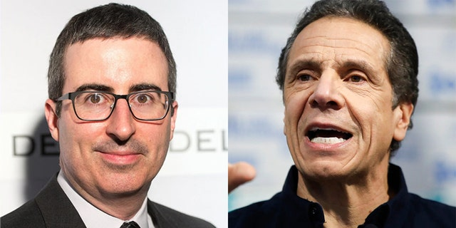 John Oliver ripped into New York Gov. Andrew Cuomo during the latest episode of 'Last Week Tonight.'
