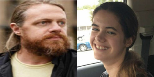 An amber alert was issued for Daphne Westbrook (right), who was last seen with her noncustodial father, John Westbrook (left), in Tennessee in October 2019.