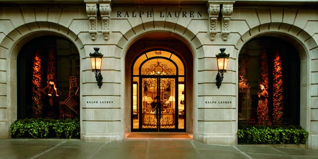 A shot of the Ralph Lauren store at 888 Madison Avenue in New York City. Like many luxury brands, the fashion house has struggled during the coronavirus pandemic with continued store closures and diminished global demand.
