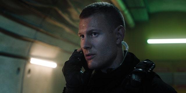Tom Hopper as SAS operator Declan.