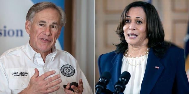 Texas Gov. Greg Abbott has a list of questions for Vice President Kamala Harris regarding the U.S.-Mexico border crisis.