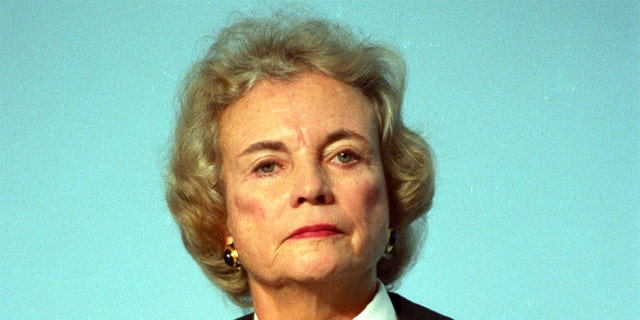 Then-U.S. Supreme Court Justice Sandra Day O'Connor is seen in Washington, Nov. 12, 1991. (Reuters)