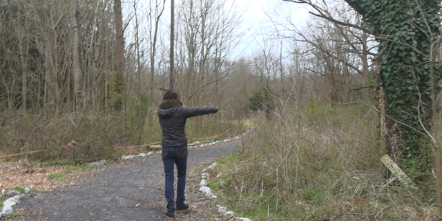 Celeste Lomax describes the 7 acres of land that the Browns Mill Forest sits on. (Source/FNC Jayla Whitfield)