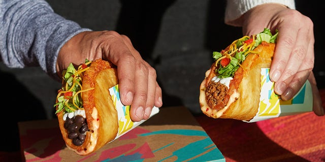 Fans can purchase the Quesalupa with seasoned beef or with black beans as a vegetarian option.