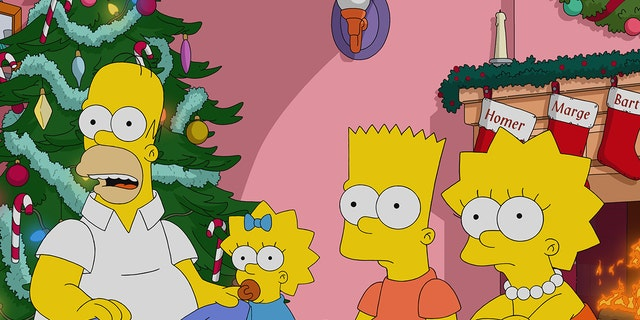 The 700th episode of 'The Simpsons,' titled 'Manger Things,' aired on March 21, 2021. (20th Television)