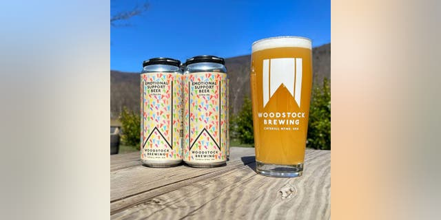 Woodstock Brewing has created an Emotional Support Beer, a Citra IPA that will benefit select charities. (Woodstock Brewing)