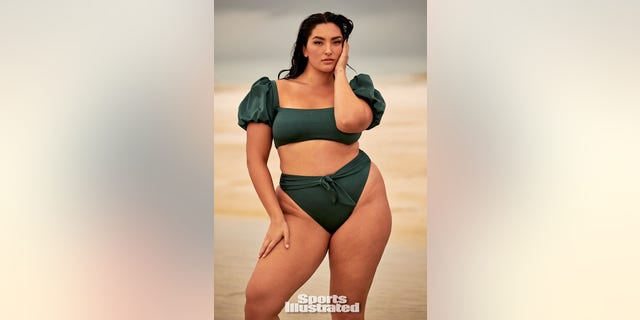 Yumi Nu is making history as the first Asian curve model to pose for Sports Illustrated Swimsuit.