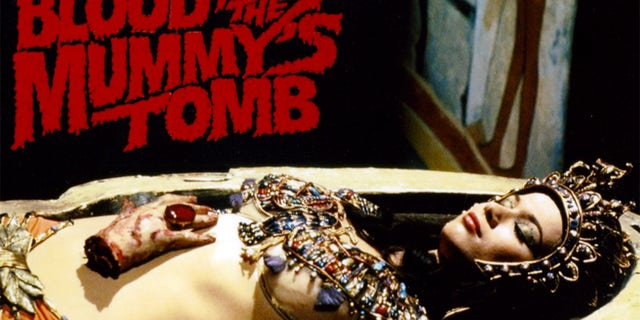 """Valerie Leon also starred in the 1971 horror flick """"Blood From the Mummy's Tomb."""""""