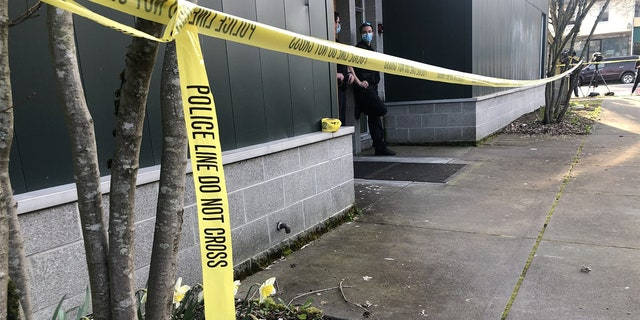A gunman enteredEmerald City Bible Fellowship Wednesday afternoon and fatally shot one man before fleeing the scene.