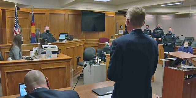 Ahmad Al Aliwi Alissa, the suspect in the Boulder, Colorado, shooting, appears in court.