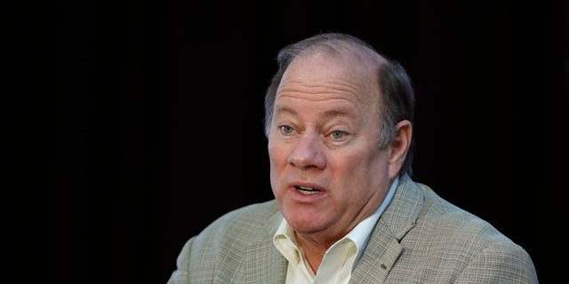 Detroit Mayor Mike Duggan speaks in Detroit. Mayor Duggan this week turned down 6,200 doses of the newly authorized Johnson & Johnson coronavirus vaccine, with favoring shots from Pfizer and Moderna for now.