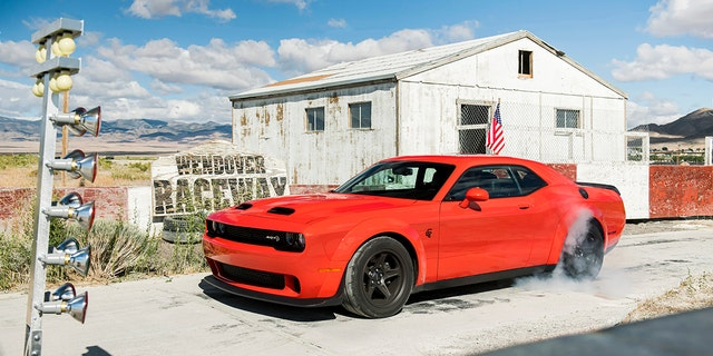 2021 Dodge Challenger SRT Super Stock