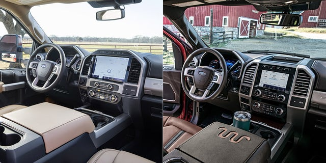 The 2022 interior is slightly changed from 2021.