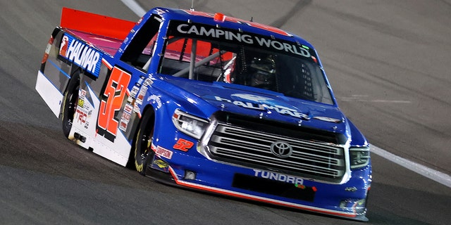 Friesen finished fourth at this year's Truck Series race in Las Vegas.
