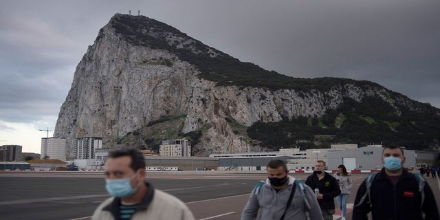 """Gibraltar has become the """"first nation in the world"""" to vaccinate its entire adult population against COVID-19. (JORGE GUERRERO/AFP via Getty Images)"""