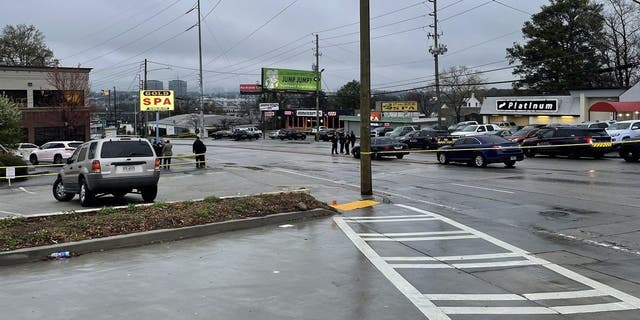 Three people were killed at Gold Spa and one person was killed across the street atAromatherapy Spa in Atlanta around 6 p.m. Tuesday