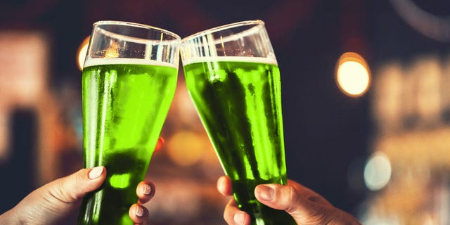 The tradition of drinking green beer was started by a man named Dr. Thomas Hayes Curtin in 1914.