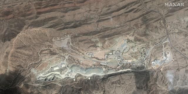 Iranian Khorgo underground ballistic missile site.
