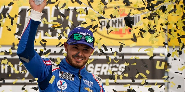 Larson won the March 7 Cup Series race at Las Vegas Motor Speedway