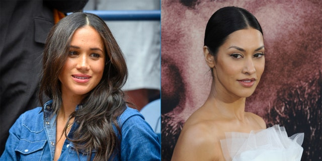 Meghan Markle's friendJanina Gavankar described helping the Duchess of Sussex while she was struggling with her mental health.