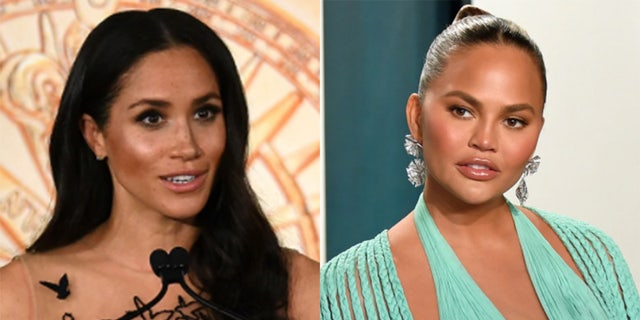 Chrissy Teigen defends Meghan Markle amid royal family rift: 'These people won't stop until she miscarries'.jpg