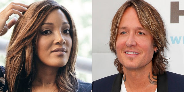 Mickey Guyton, left, and Keith Urban will host the Academy of Country Music Awards in April.