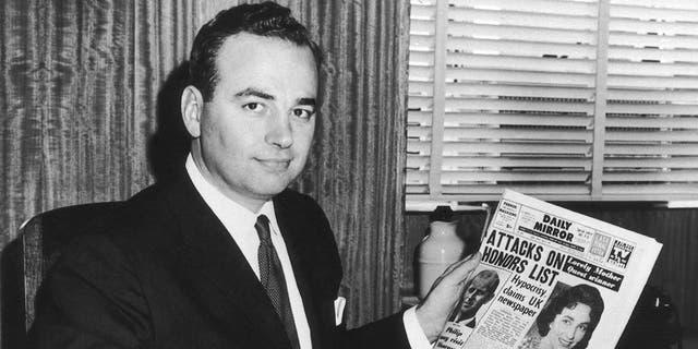 Rupert Murdoch in May 1960.