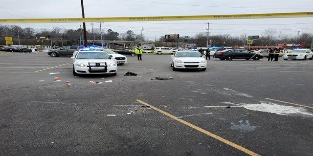 The scene of the shooting Friday in Nashville, Tenn. (Metropolitan Nashville Police Department)