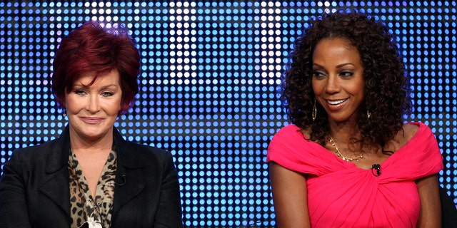 Actress Holly Robinson Peete, right, claimed on March 12, that Osbourne played a role in getting her fired after she said Peete was 'too ghetto.'