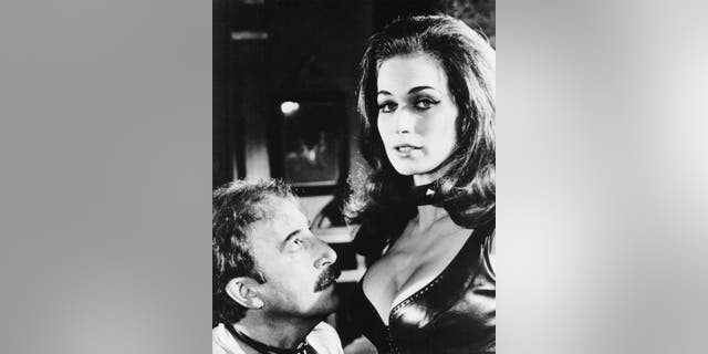 Peter Sellers with Valerie Leon