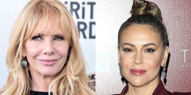 Stars Rosanna Arquette and Alyssa Milano slammed CPAC and Hyatt hotels for